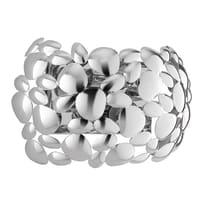 Applique Dioniso grigio, in acciaio, E14 2xMAX28W IP20