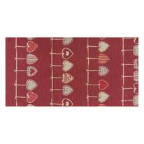 Tappeto Cucina antiscivolo Deco cuore rosso 75x53 cm