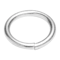 Anello saldato in acciaio 6 pezzi