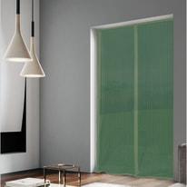 Tenda zanzariera magnetica a pannelli L 120 x H 240 cm verde