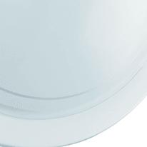 Plafoniera Planet bianco, in vetro, diam. 29 cm, E27 MAX60W IP20