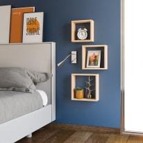 Tenda INSPIRE Newmanchester arancione occhielli 140x280 cm