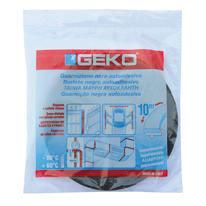 Guarnizione isolante per porte e finestre adesivo Geko nero