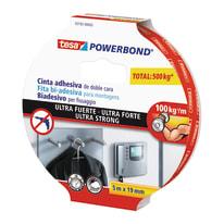 Nastro bi-adesivo TESA TAPE Powerbond ultra forte 5 m x 19 mm bianco