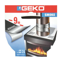 Nastro adesivo Geko 40 mm x 9 m argento