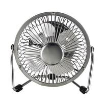 Ventilatore EQUATION TX-401D  silver 6 W Ø 10 cm