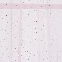 Tenda Stelline rosa occhielli 140x280 cm