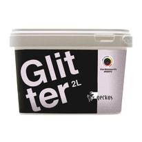 Pittura decorativa Glitter 2 l viola melanzana 6 effetto paillette