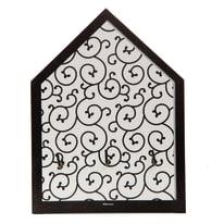 Bacheca portachiavi Arabesque 3 ganci multicolore 150 x 200 mm x 4 cm