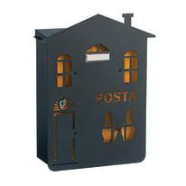 Cover per cassetta postale Mia Casa in ghisa L 31.5 x H 38.6 cm