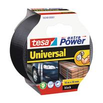Nastro di riparazione TESA Extra Power 50 mm x 10 m nero