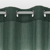 Tenda INSPIRE Soft verde occhielli 140x280 cm