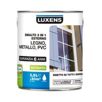 Smalto LUXENS base acqua grigio sasso 6 2.5 L