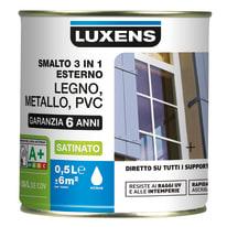 Smalto LUXENS Satinato base acqua blu ral5015 0.25 L