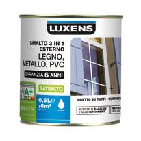 Smalto LUXENS base acqua grigio antracite 0.5 L