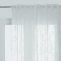Tenda Shabby bianco passanti 140x290 cm