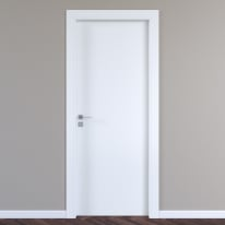Porta a battente per hotel Radisson Oak bianco L 90 x H 210 cm destra