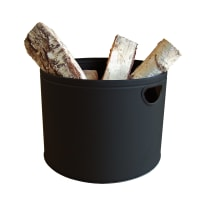 Porta legna da ardere ADURO Firewood Bucket x H32Ø 44 cm