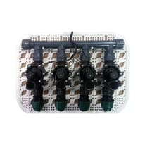 Elettrovalvola RAIN Kit griglia premontato da 4 raccordi 24 V
