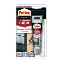 Silicone PATTEX Finestre e Infissi traslucido 50 ml