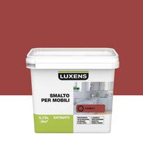 Pittura di ristrutturazione mobile cucina LUXENS 0.75 l rosso carmen 3