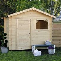 Casetta da giardino in legno Sally 6.26 m² spessore 18 mm