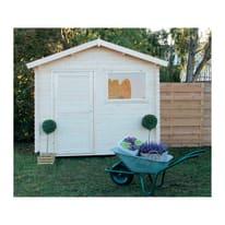 Casetta da giardino in legno Sally 4.32 m² spessore 18 mm