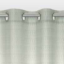 Tenda Ugo verde occhielli 140x280 cm