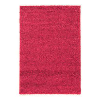 Tappeto Curly rosa 220x150 cm