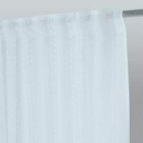 Tenda INSPIRE Livia bianco fettuccia con passanti nascosti 200x280 cm