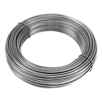 Tendifilo in acciaio galvanizzato Filo zincato Matazinc L 1000 x Ø 2 mm x H 4.5 cm