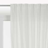 Tenda INSPIRE Polycotton bianco passanti 140x280 cm