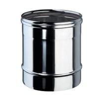 Tubo Tubo m.0,25 inox aisi 316L Dn 80 mm in inox 316l (elevata resistenza in condizioni climatiche estreme) L 25 cm x Ø 80 mm