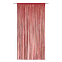 Tenda Spaghetti rosso bastone 140x270 cm