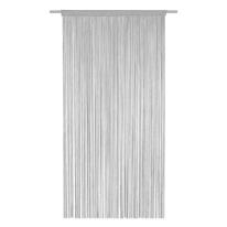 Tenda Spaghetti grigio bastone 140x270 cm