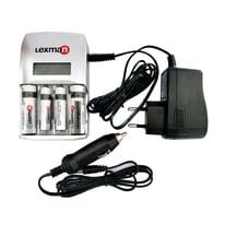 Caricabatterie LEXMAN 1178480 NiMH