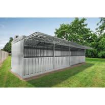 Chiosco in metallo Daikiri 4 ribalte 25.55 m² spessore 0.4 mm