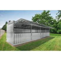 Chiosco in metallo Daikiri c/mensole 28.37 m² spessore 0.4 mm