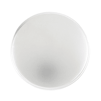 Pomolo in zama grigio / argento cromato Ø 33 mm