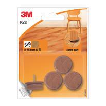 Pattino SP84N31 4 pezzi Ø 25 mm