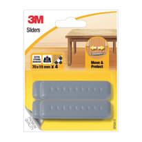Pattino SP62A13 H 70 mm, 4 pezzi