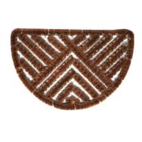 Zerbino in ferro marrone 40x60 cm