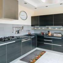 Tappeto Cucina antiscivolo Relax spezie grigio 100x50 cm