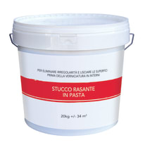 Stucco in pasta Rasante 20 kg bianco