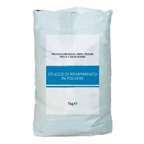 Stucco in polvere Riempitivo 1 kg bianco
