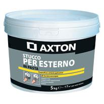 Stucco in pasta AXTON per esterno 5 kg bianco