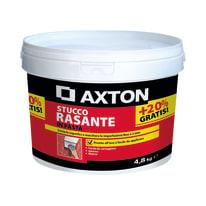 Stucco in pasta AXTON Rasante 4.8 kg bianco