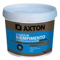 Stucco in pasta AXTON Rapido 1 kg bianco