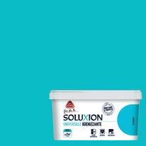 Pittura murale BOERO Soluxion 2.5 L bolle blu