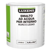 Smalto LUXENS base acqua grigio gratino 6 satinato 0.5 L
